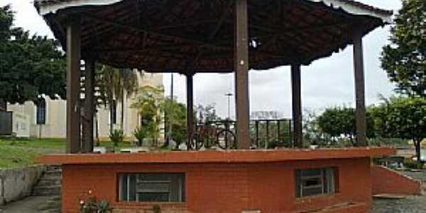 Pariquera-Açu-SP-Coreto na Praça da Matriz-Foto:Sandro Sashz祝