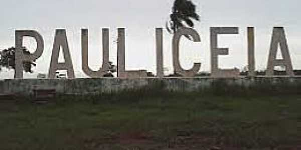 Paulicéia-SP-Entrada da cidade-Foto:aconteceempauliceia.blogspot.com