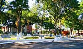 Paulistânia - Praça central-Foto:Luciano Rizzieri