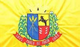 Paulo de Faria - Bandeira da cidade