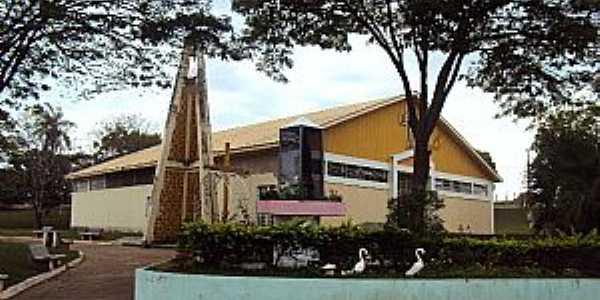 Paulópolis-SP-Igreja de N.Sra.Aparecida-Foto:Fabio Vasconcelos
