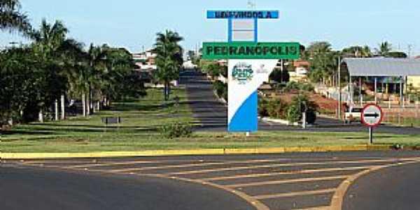 Imagens da cidade de Pedranópolis - SP