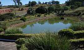 Pedregulho - Jardins na rodovi�ria de Pedregulho