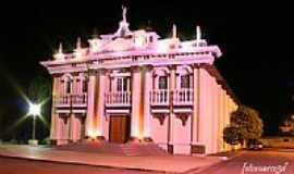 Pedrinhas Paulista - Teatro Municipal-Foto noturna-Foto:fotomarco3d