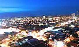 Penápolis - Vista noturna da cidade
