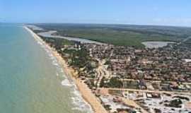 Prado - Vista aérea de Prado,litoral Sul da Bahia-BA-Foto:João Fontoura