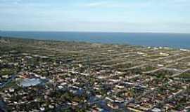 Prado - Vista a�rea de Prado,litoral Sul da Bahia-BA-Foto:mdn04