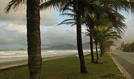Peruíbe - Peruíbe-SP-Orla da praia-Foto:Adilson Karafa
