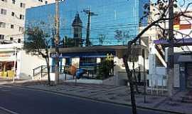 Peruíbe - Peruíbe-SP-Reflexo da Matriz de São João Batista-Foto:Conceição Savioli