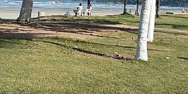 Peruíbe-SP-Orla da praia-Foto:Conceição Savioli