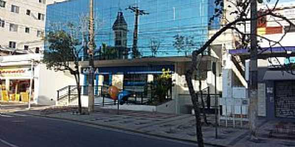 Peruíbe-SP-Reflexo da Matriz de São João Batista-Foto:Conceição Savioli