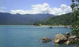 Picinguaba - Vista pra vila e praia da Fazenda