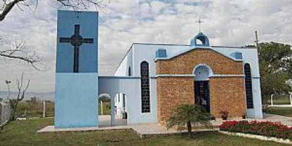 Pindamonhangaba-SP-Igreja de Cristo Rei no Bairro Taipas-Foto:ROBINSONROY