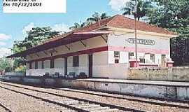 Pindorama - Pindorama-SP-Estação Ferroviária em 2001-Foto:Mauro Luiz Benedito da Costa