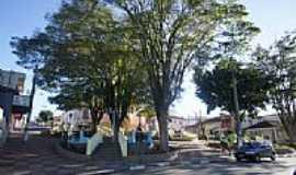 Pinhalzinho - Praça da  Matriz de Pinhalzinho-Foto:Ernandes C Santos