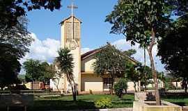 Pioneiros - Pioneiros-SP-Igreja Matriz-Foto:Alexandre Bonacini