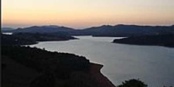 Piracaia-SP-Entardecer na Represa-Foto:Portal Piracaia