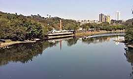 Piracicaba - Piracicaba-SP-Rio Piracicaba e a cidade-Foto:Lidiane Marino