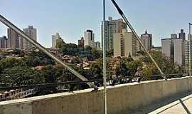 Piracicaba - Piracicaba-SP-Vista à partir da Ponte Estaiada-Foto:Lidiane Marino