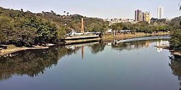 Piracicaba-SP-Rio Piracicaba e a cidade-Foto:Lidiane Marino