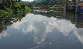 Pirapora do Bom Jesus - Pirapora do Bom Jesus-SP-Casario na beira do Rio Tietê-Foto:Ernandes C Santos