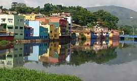 Pirapora do Bom Jesus - Pirapora do Bom Jesus-SP-Rio Tietê e vista parcial da cidade-Foto:Ernandes C Santos