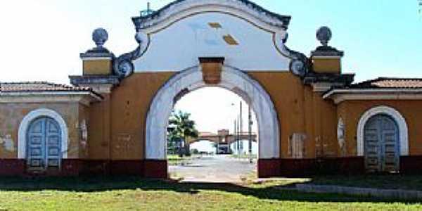 Pirassununga-SP-Antigo portal de acesso à USP-Foto:Reginaldo Resende
