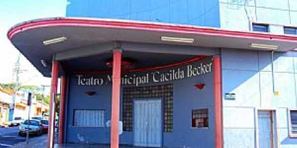 Pirassununga-SP-Teatro Municipal Cacilda Becker-Foto:Reginaldo Resende