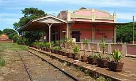 Pitangueiras - Pitangueiras-SP-A Estação em 2009-Foto:Antonio C. Britto
