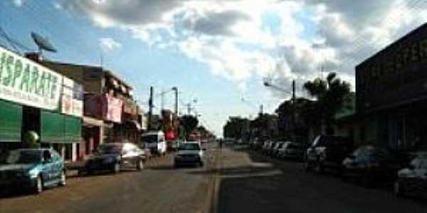 Planalto do Sul-SP-Avenida Principal-Foto:Nestor José Dias Filho