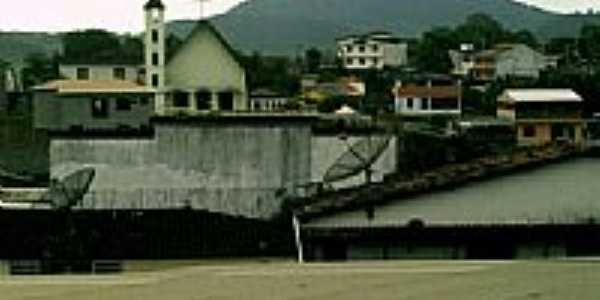Vista da Serra e parte da cidade de Presidente Tancredo Neves-BA-Foto:adenilse romana