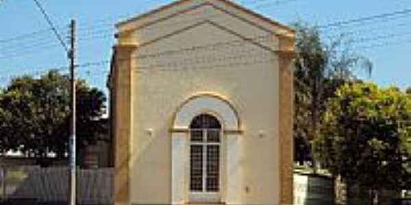 Capela do Lar dos Idosos Antônio  Frederico Ozanam foto Fábio Vasconcelos
