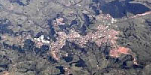 Vista aérea da cidade e região de Pompéia-Foto:André Bonacin