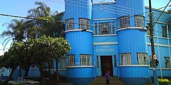 Pontal-SP-Prefeitura Municipal-Foto:Jose Walter de Almeida