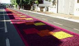 Potirendaba - Potirendaba-SP-Tradição de Corpus Christi-Foto:Fabricio Peres