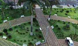 Potirendaba - Potirendaba-SP-Vista aérea da Praça da Matriz-Foto:Fabricio Peres