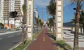 Praia Grande - Praia Grande-SP-Início do Bairro Boqueirão-Foto:alan azevedo