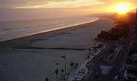 Praia Grande - Praia Grande-SP-Pôr do Sol-Foto:cintia christina bastos