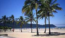 Praia Grande - Praia Grande-SP-Praia no Canto do Forte-Foto:alan azevedo