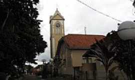 Presidente Alves - Igreja Matriz de Santa Cec�lia em Presidente Alves-SP-Foto:Wilson Alcaras
