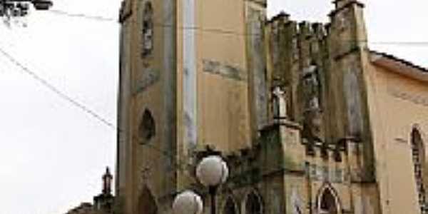 Igreja Matriz de Santa Cecília em Presidente Alves-SP-Foto:gustavo_asciutti