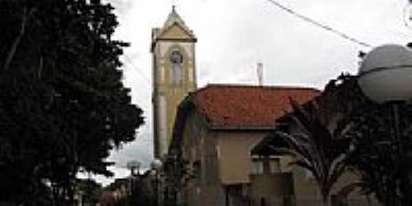 Igreja Matriz de Santa Cecília em Presidente Alves-SP-Foto:Wilson Alcaras