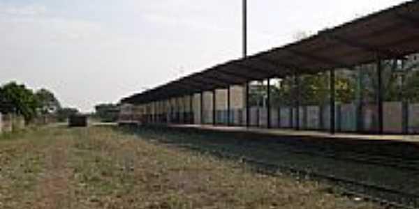 Antiga Estação Ferroviária de Presidente Wenceslau-Foto:Silvestre dos Santos…