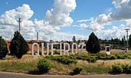 Queiroz - Entrada da cidade-Foto:Eduardo M. P. Dantas