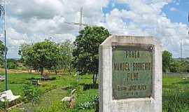 Quintana - Quintana-SP-Cruzeiro e Memorial na Praça Manoel Sobreiro Filho-Foto:Eduardo Dantas