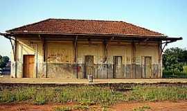 Quintana - Quintana-SP-Estação Ferroviária-Foto:mapio.net