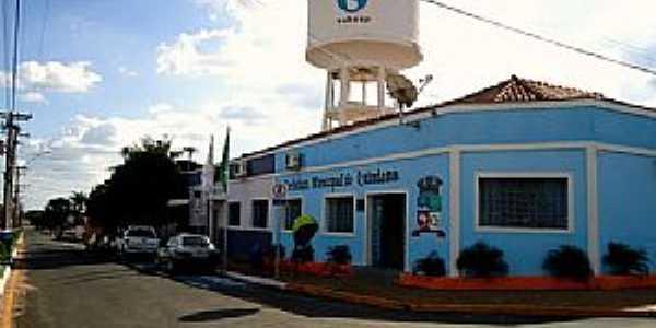Quintana-SP-Prefeitura Municipal-Foto:www.cidade-brasil.com.br