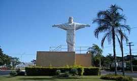 Rancharia - Rancharia-SP-Cristo Redentor na entrada da cidade-Foto:rancharia.sp.gov.br