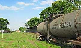 Rancharia - Rancharia-SP-Pátio da Estação Ferroviária-Foto:Eduardo Dantas