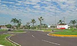 Rancharia - Rancharia-SP-Trevo de acesso-Foto:Eduardo Dantas